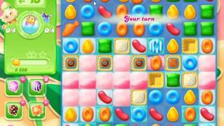 Candy Crush Jelly Saga Level 843 - NO BOOSTERS (CLOSER TO PAY2WIN-VERSION)