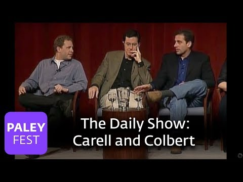 The Daily Show - Carell and Colbert on improv: Paley Center