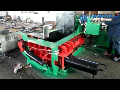 Y81 125T Waste metal baling machine, 125ton scrap recycling metal baler manufacturer