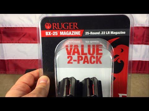 Ruger BX-25 magazine 2-pack for Ruger 10/22