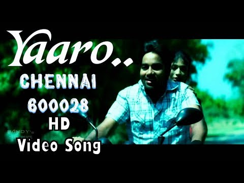Yaaro Yarukkul | Chennai 28 HD Video Song + HD Audio | Shiva