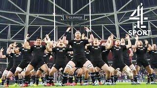 New Zealand All Blacks Haka | Ireland vs. New Zealand | Rugby Union