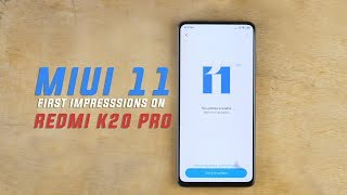 MIUI 11 - BRAND NEW FEATURES in detail! MIUI 11 First Look.