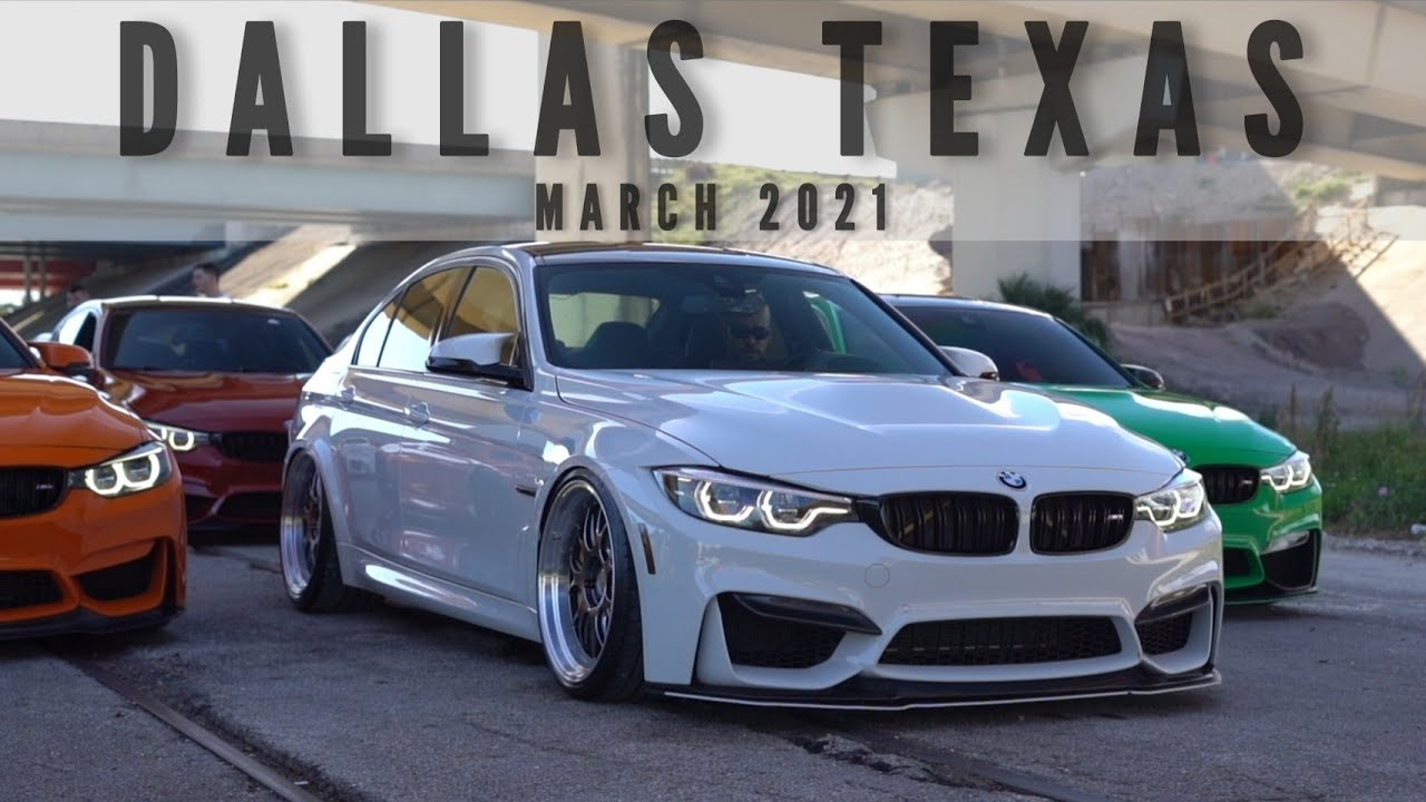 Bmw Invasion Of Dallas Texas Will Be Epic Youtube