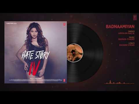 Badnaamiyan (Full Audio) | Hate Story IV | Urvashi Rautela | Karan Wahi | Armaan Malik
