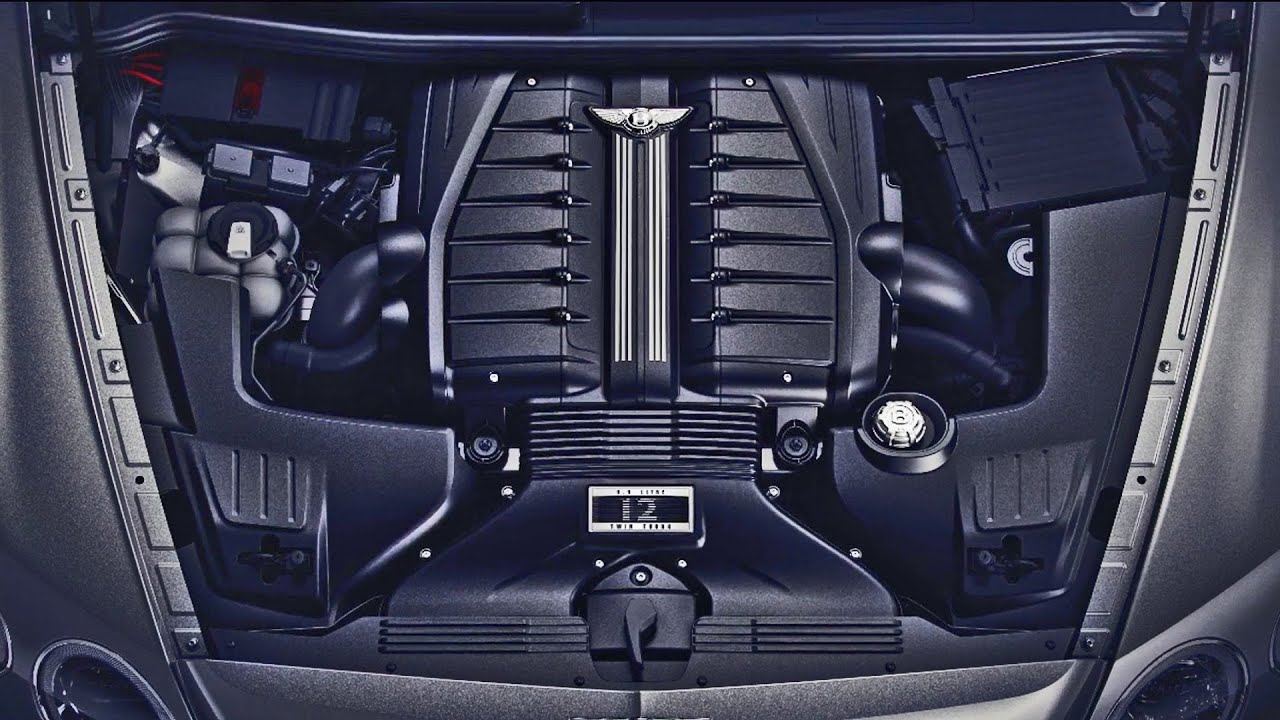 Bentley 6 0 Litre W12 Engine 600 Horsepower