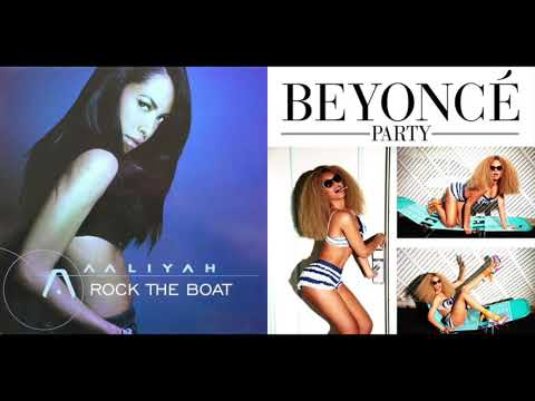 Aaliyah vs. Beyoncé - Rock the Party (Mashup)