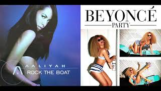 Video Aaliyah vs. Beyoncé - Rock the Party (Mashup) download MP3, 3GP, MP4, WEBM, AVI, FLV Mei 2018