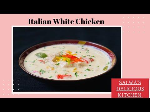 italian-white-chicken-|-chicken-in-cream-&-cheese-sauce-|-quick-&-delicious-chicken-curry