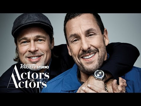 Aly - Brad Pitt And Adam Sandler Interview One Another, And It's Fantastic