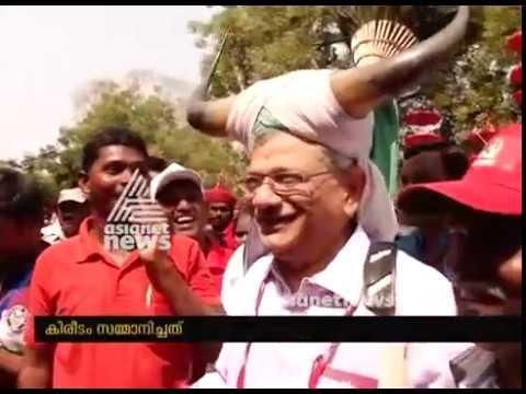 CPM Party Congress: CPM പാര്ട്ടി കോണ്ഗ്രസില് ശ്രദ്ധാകേന്ദ്രമായി സീതാറാം യെച്ചൂരി