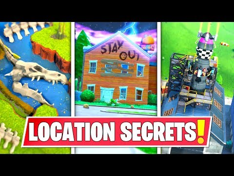 *NEW* SECRET LOCATION CHANGES THAT *EVERYONE MISSED* IN SEASON 10 MAP! ROCKET, CREEPY HOUSE & MORE!
