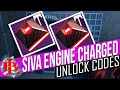 Destiny SIVA ENGINE CHARGED CODES for TITAN HUNTER and Warlock How to Unlock Siva Engine CHARGED