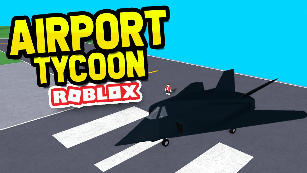 Buying The Nighthawk In Roblox Airport Tycoon Youtube