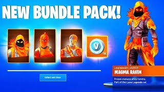 Fortnite NEW LAVA LEGENDS BUNDLE PACK (Fortnite Battle Royale Season 8)