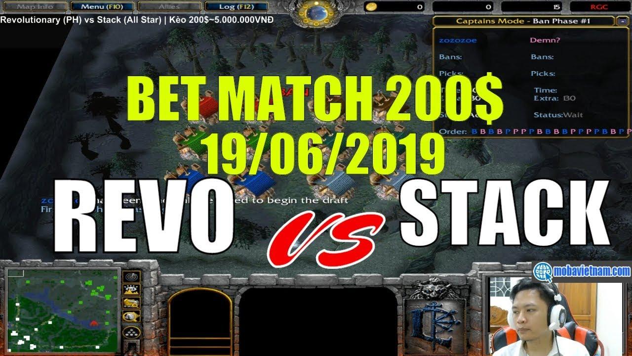 Revolutionary (PH) vs Stack (All Star)   Kèo 200$~5.000.000VNĐ
