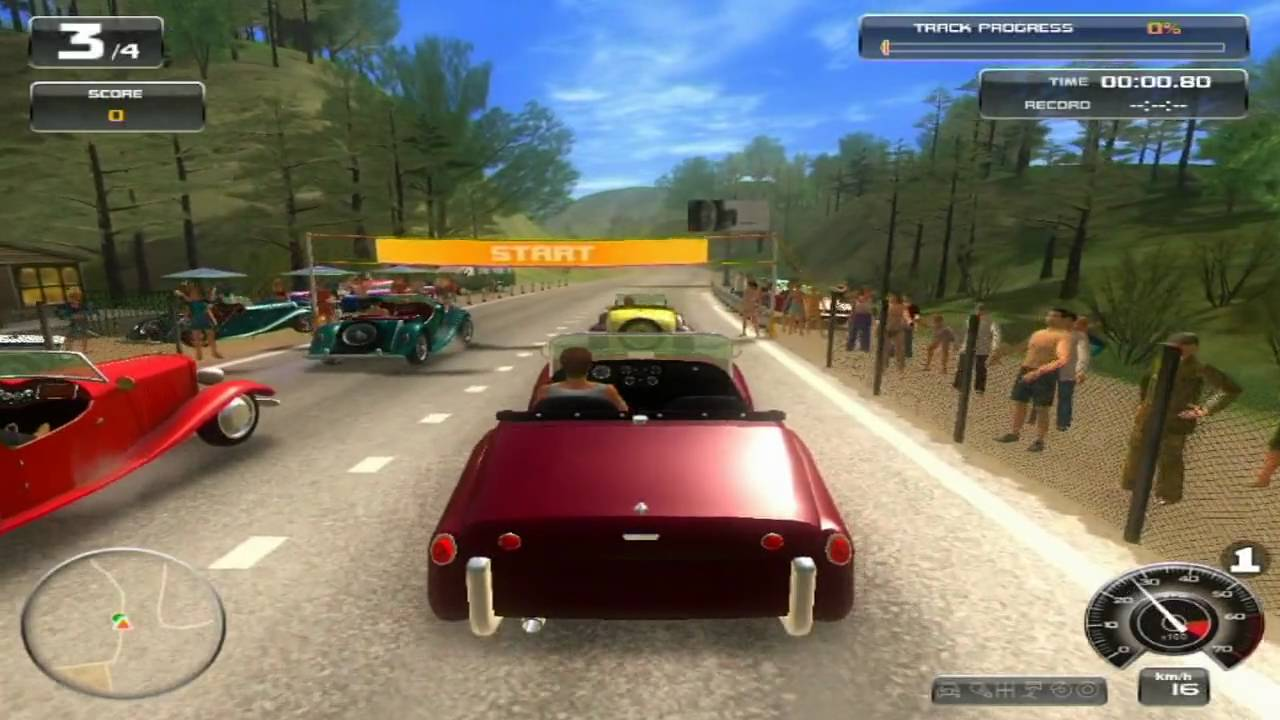 Classic Car Racing Pc Gameplay Video Hd Youtube
