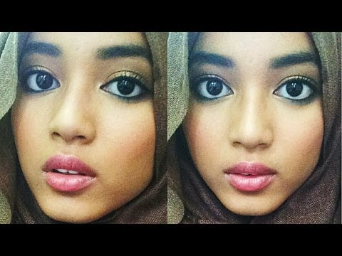 Bronze skin & Nude lips. Makeup tutorial! - YouTube
