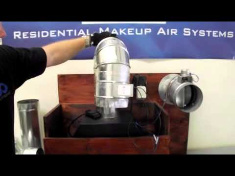 Various Install Options for Make Up Air