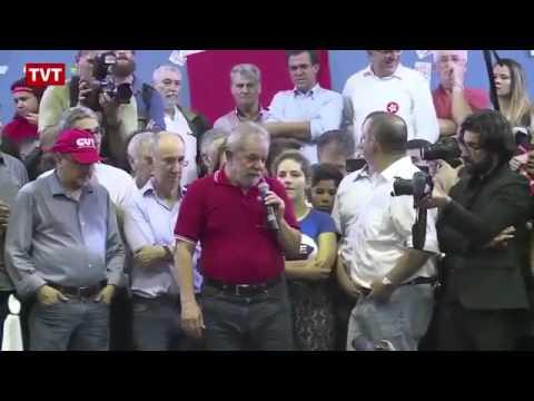 CNN Live:  Lula speech that Jesus suffered and Tiradentes was curificado .