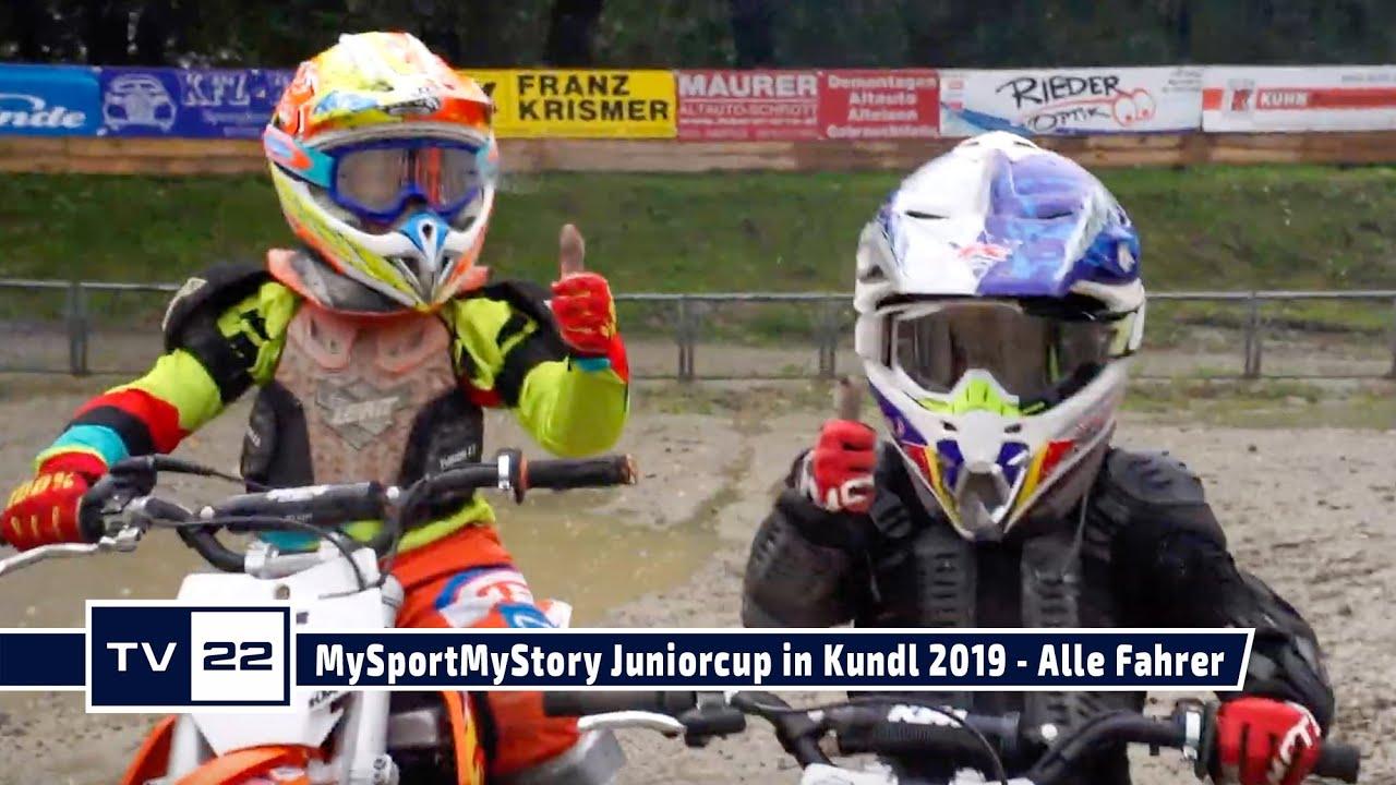 Alle Fahrer des MySportMyStory Motocross Junior Cup in Kundl 2019