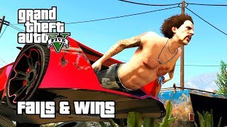 GTA 5 FAILS & WINS #3 (Best GTA V Funny Moments Compilation)