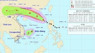 Tin Tức 24h Mới Nhất : Tin bão trên Biển Đông (cơn bão số 7) và tin áp thấp nhiệt đới trên Biển Đông