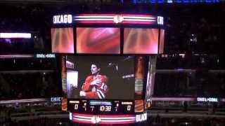 Chicago Blackhawks intro, 2013