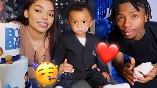Our Son Reign's 1st Birthday! *Cutest Thing Ever*