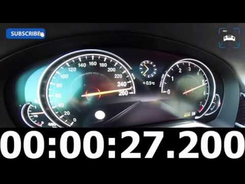 2016 BMW 7 Series 750i 4 4 V8 BiTurbo 0 260 km TOP SPEED