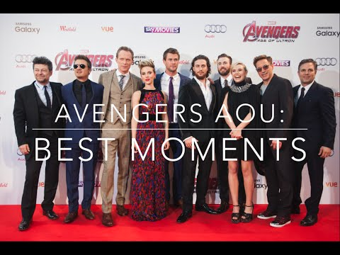 Avengers Age of Ultron Cast: Funny Moments