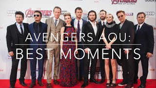 avengers age of ultron cast funny moments