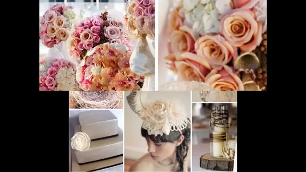 Romantic wedding theme ideas - YouTube