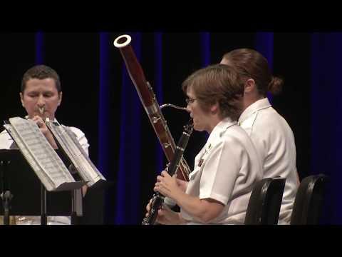 The United States Naval Academy Wind Quintet - Millennium Stage (August 7, 2017)