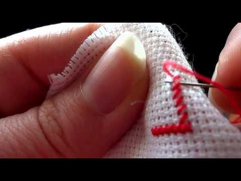 Вышивка крестом: Процесс вышивки крестом для начинающих / Мой метод вышивки крестом