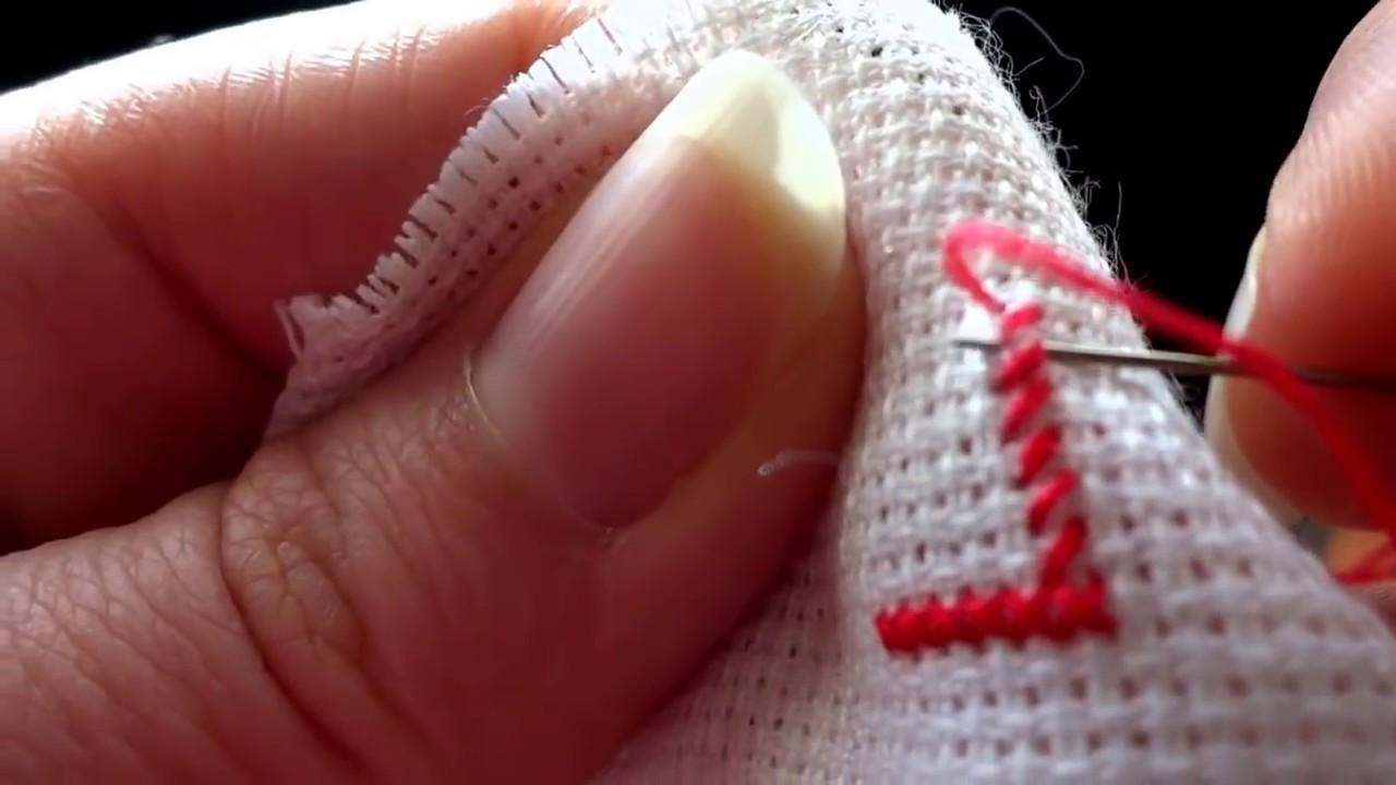 Вышивание крестиком для начинающих видео