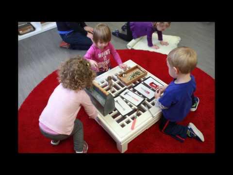 A Montessori Toddler Morning