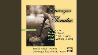 Sonata in F major: Poco largo Siciliana