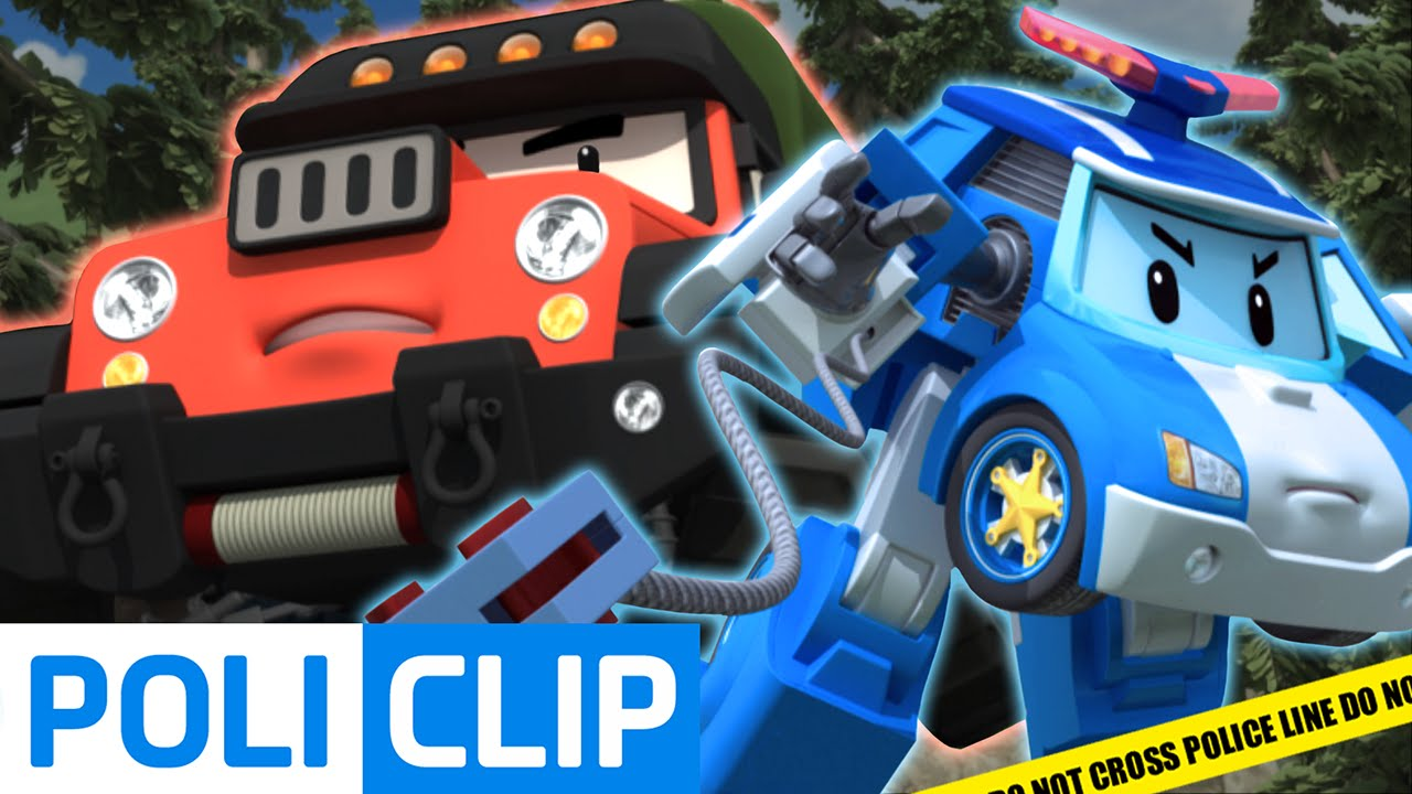 Robocar poli arrest the poacher robocar poli clips youtube