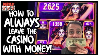 THE REAL WAY TO CASH OUT ON SLOTS AND LEAVE THE CASINO WITH MONEY!