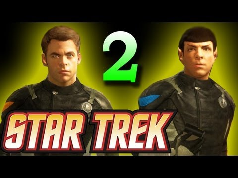 Star Trek 2013 (The Game): Meet Captain T'Mar-New Vulcan-Surok's Lab Walkthrough  Part 2