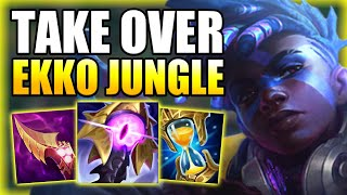 HOW TO PLAY EĶKO JUNGLE & TAKE OVER THE GAME IN DIAMOND! - Best Build/Runes Guide League of Legends