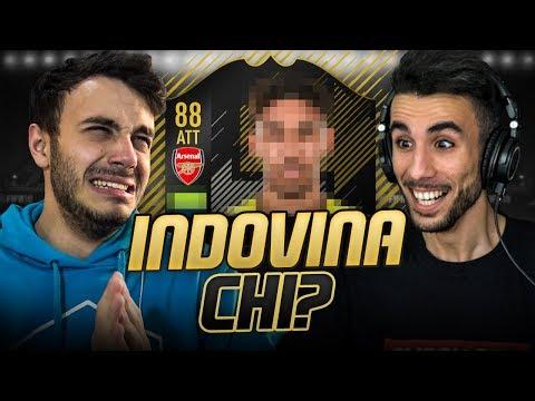 INDOVINA il CALCIATORE CHALLENGE! CHI PERDE SCARTA un ONES TO WATCH su FIFA 18! w/ FIUS GAMER