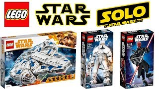 Lego Star Wars Han Solo a Star Wars Story 2018 Sets