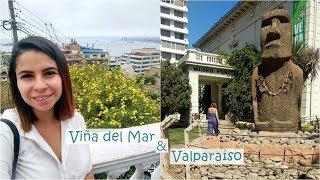 VIÑA DEL MAR E VALPARAÍSO - VLOG SANTIAGO | Larissa Oliveira thumbnail