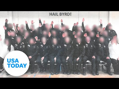 West Virginia correctional cadets fired for Nazi salute photo | USA TODAY