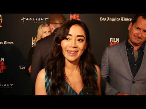 Aimee Garcia at El Chicano Premiere LA Film Festival 2018