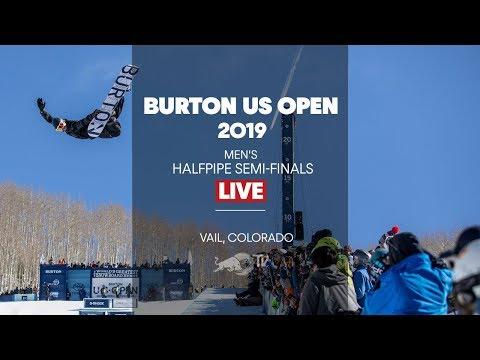 FULL SHOW - Burton US Open Men's Halfpipe Semi-Finals