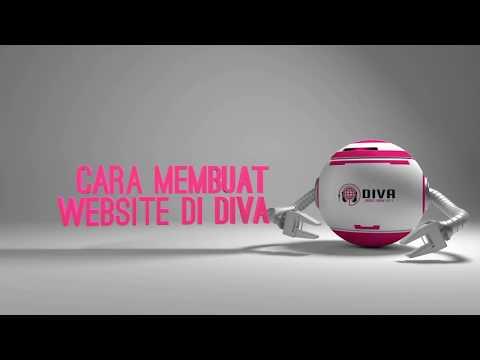 Tutorial Cara Membuat Website di Diva