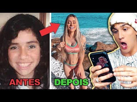 RS ANTES E DEPOIS DA FAMA